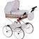 Ретро коляска для кукол Wakart Моника в ассортименте