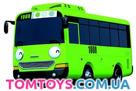 герои мультика тайо маленький автобус имена и фото Tomtoys