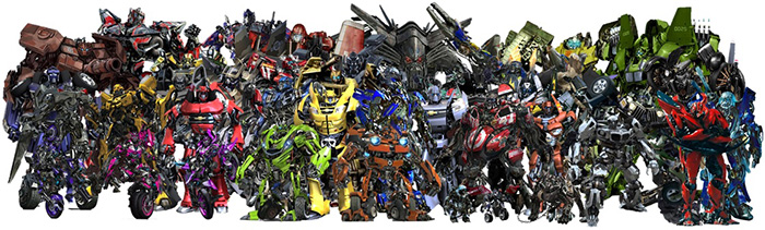 universe of transformers