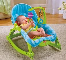 Детские кресла качалки и шезлонги