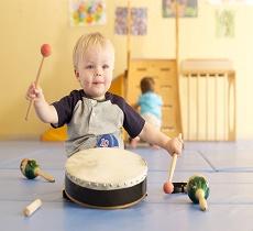 Музыкальные инструменты для малышей
