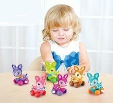 Заводные и инерционные игрушки для малышей