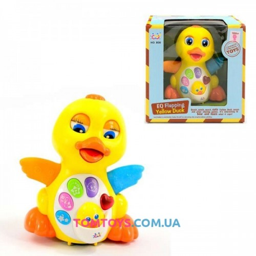 Интерактивная игрушка HuiLe TOYS Жёлтый Утёнок 808/7446
