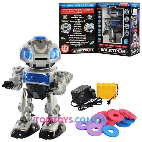 Интерактивный Робот Limo Toy Электрон 694686R/TT903A