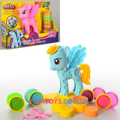 Тесто для лепки Play-Toy набор Пони My Little Pony SM8001
