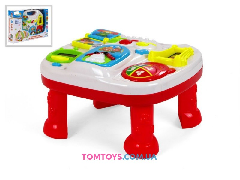 Развивающий музыкальный столик S+S TOYS EQ80086R