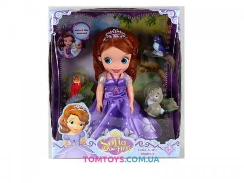 Кукла Принцесса София с питомцами ZT8809