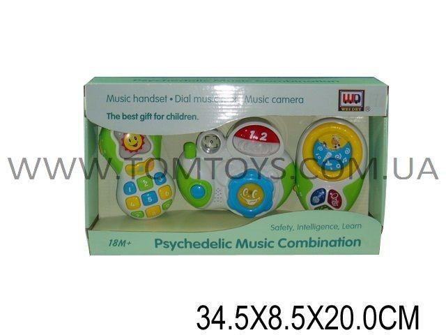 Музыкальный игровой набор WEI DEY WD3644