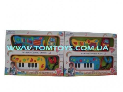 Музыкальный набор (Гитара+Телефон) или (Пианино+Наушники) 65062