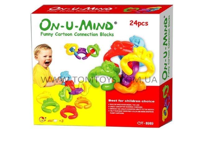 Умный конструктор для малышей On-U-Mind 24 дет. GT-8989