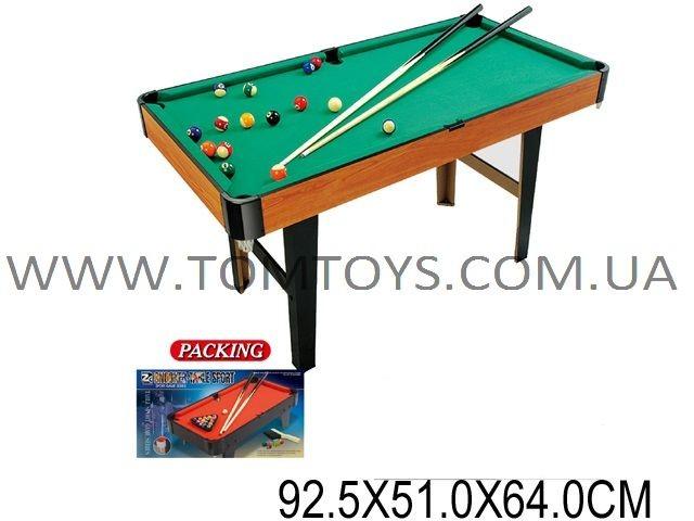 Настольная игра для детей ZHIGHENG 'Бильярд'(деревянный 92.5х51х64см) ZC2003A