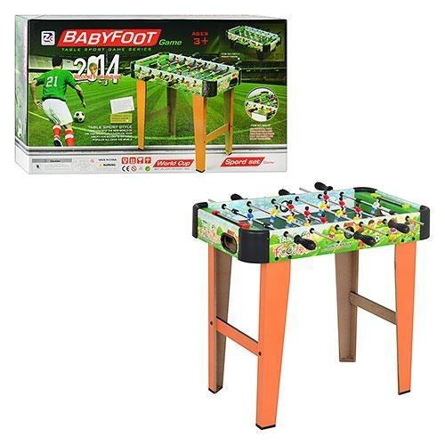 Настольная игра для детей ZHIGHENG 'Футбол'(деревянный на рычагах) ZC1001+2