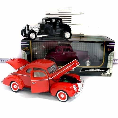 Детская коллекционная машинка Motormax 73100L металлическая Ретро