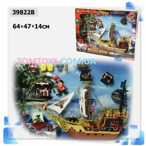 Игровой набор 'Пиратский корабль' с набором аксессуаров 39822B