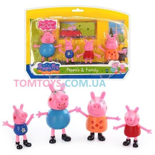 Набор фигурок семья свинка Пеппа 200781