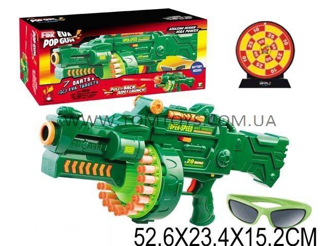 Игровой набор оружия 'SUPER SHOOTER POP GUN'(поролоновые пули на присосках) CB999802