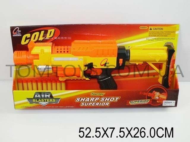 Игровой набор оружия 'AIR BLASTERS'(поролоновые пули на присосках) 8013A