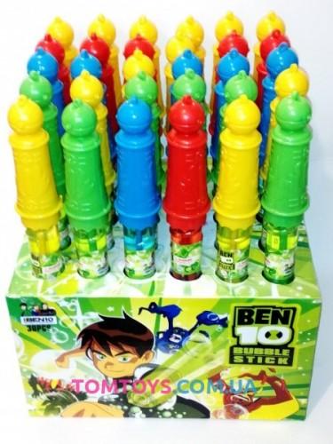Мыльные пузыри палочка Ben 10 BY-010