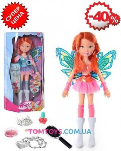 Кукла Winx музыкальная с косметикой 821