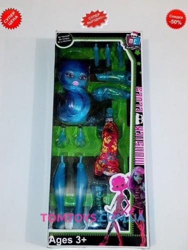 Кукла конструктор Монстер хай шарнирная 1192B