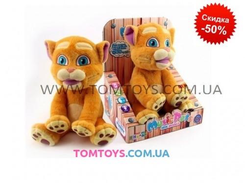 Интерактивная игрушка Кот CHUANG TOYS повторюшка танцует под музыку CL1605