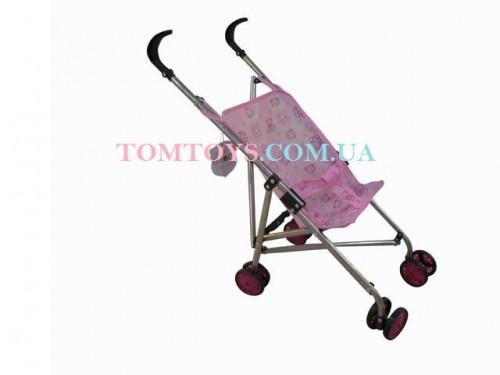 Коляска трость для кукол Fei Li с поворотными колесами 0881MDQ