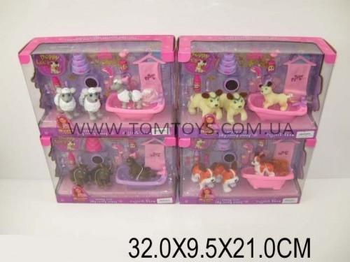 Набор для девочек ванная комната 'PET CLUB' с животными и аксессуарами (4 вида) CL2038-2041