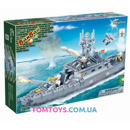 Конструктор BanBao Эсминец 8415