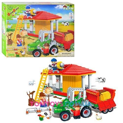 Конструктор BanBao Ферма 8573
