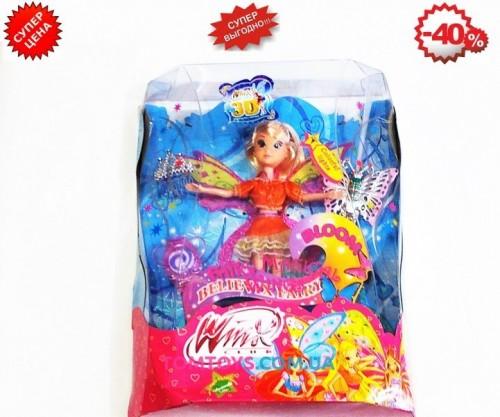 Кукла Winx Флора с аксессуарами WX795-6E
