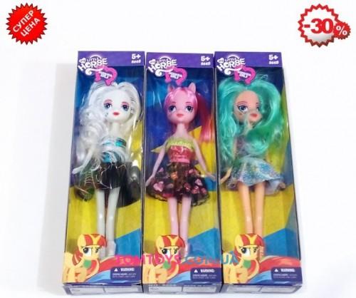 Кукла Пони 3 вида 6007B