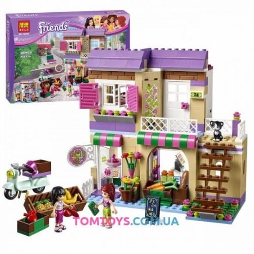 Конструктор Bela Friends аналог LEGO Friends 41108 Овощной рынок в Хартлейке 10495