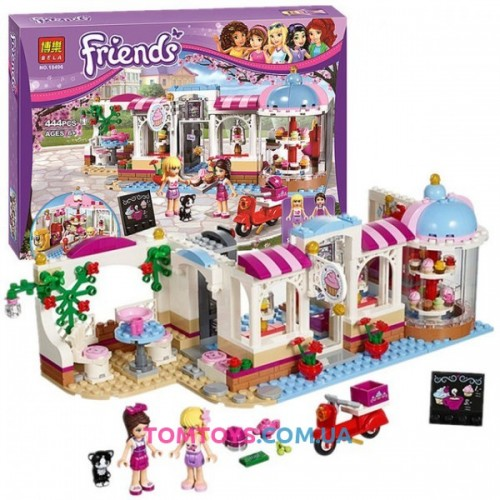 Конструктор Bela Friends аналог LEGO Friends 41119 Кондитерская  10496