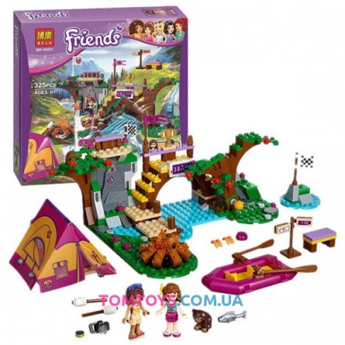 Конструктор Bela Friends аналог LEGO Friends 41121 Спортивный лагерь сплав по реке 10493