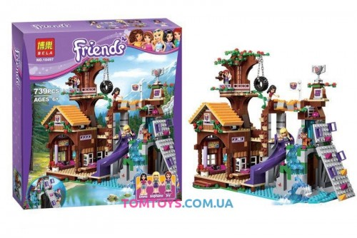 Конструктор Bela Friends аналог LEGO Friends 41122 Спортивный лагерь дом на дереве 10497