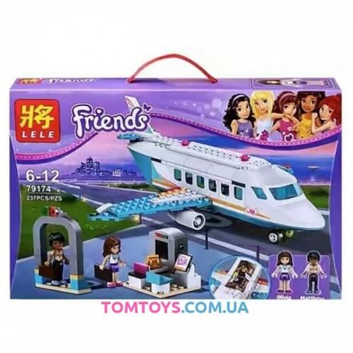 Конструктор Lele Friends аналог Lego 41100 Частный самолёт 79174