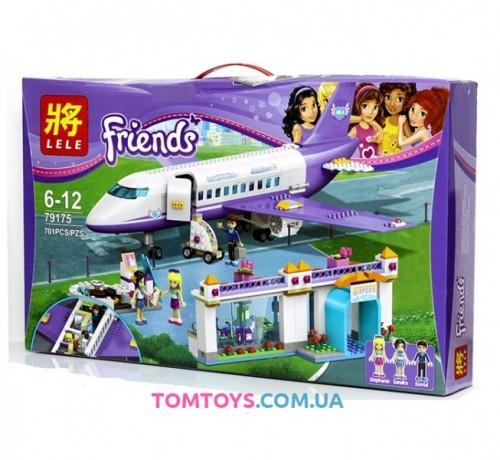 Конструктор Lele Friends аналог Lego 41109 Аэропорт Хартлейк Сити 79175