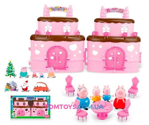 Игровой набор Домик Торт Свинки Пеппы 666-007-1