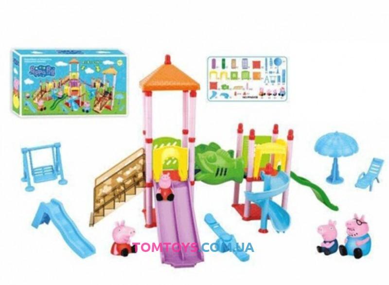 Игровой набор детская площадка Свинки Пеппы PP6041B
