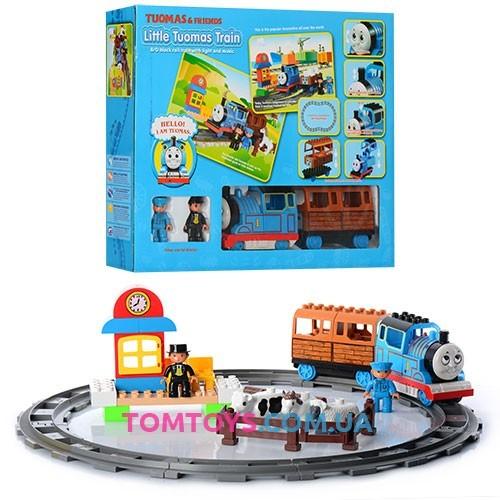 Железная дорога JIXIN 'THOMAS' с конструктором 8288A
