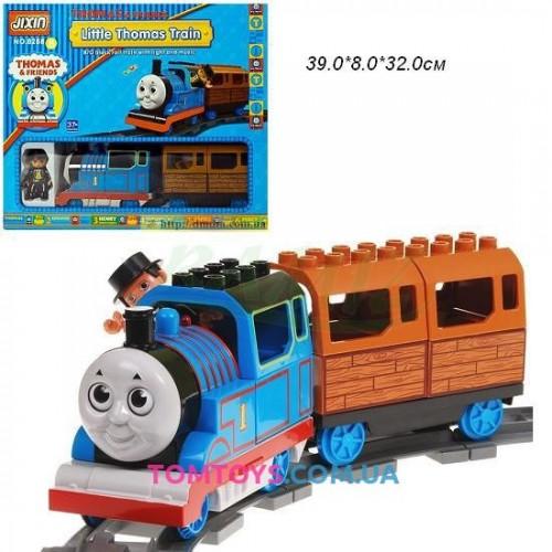 Железная дорога JIXIN 'THOMAS' с конструктором 8288B