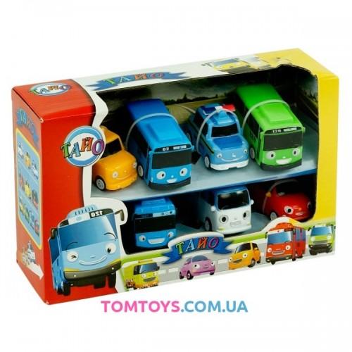 Игровой набор автобусики Тайо 30556