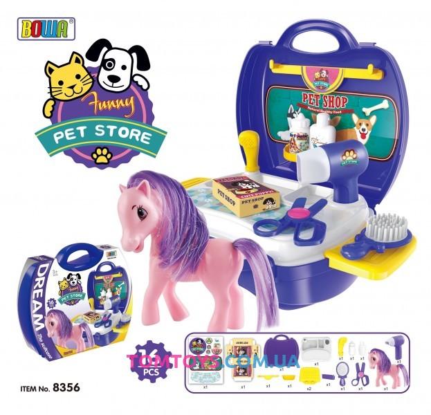 Игровой набор Парикмахерский салон Пони 8356
