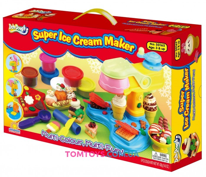 Тесто для лепки DOH-DOUGH супер маркет мороженого и пирожного 50165