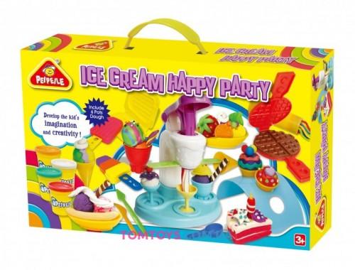 Мега набор тесто для лепки PEIPEILE  Праздничная вечеринка мороженого 3817