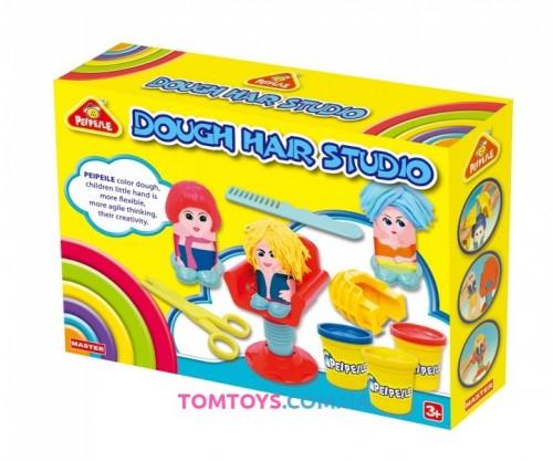 Тесто для лепки PEIPEILE сумасшедшие причёски 6813