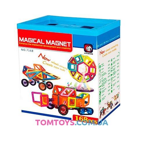Магнитный конструктор Magical Magnet 7168
