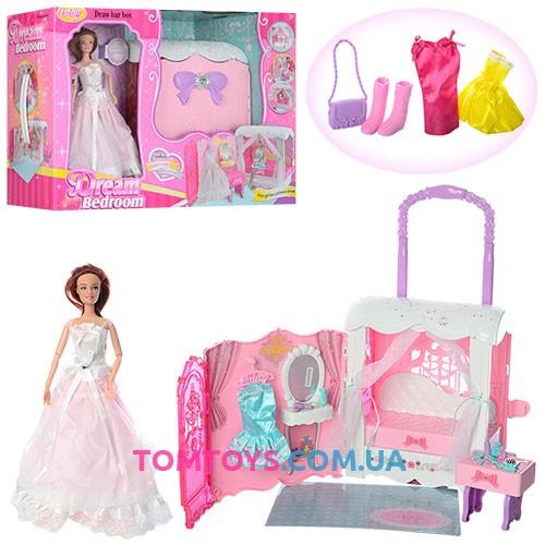 Кукла с мебелью 99047