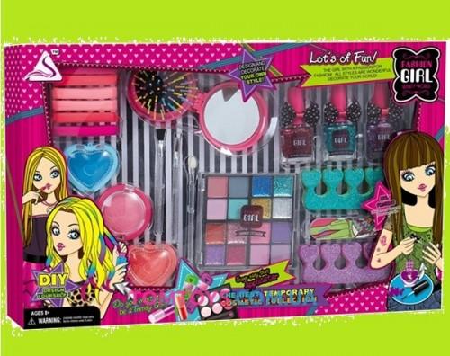 Набор косметики для девочек мелки для волос J-512