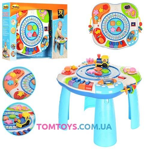 Развивающий игровой столик WinFun 0801-07